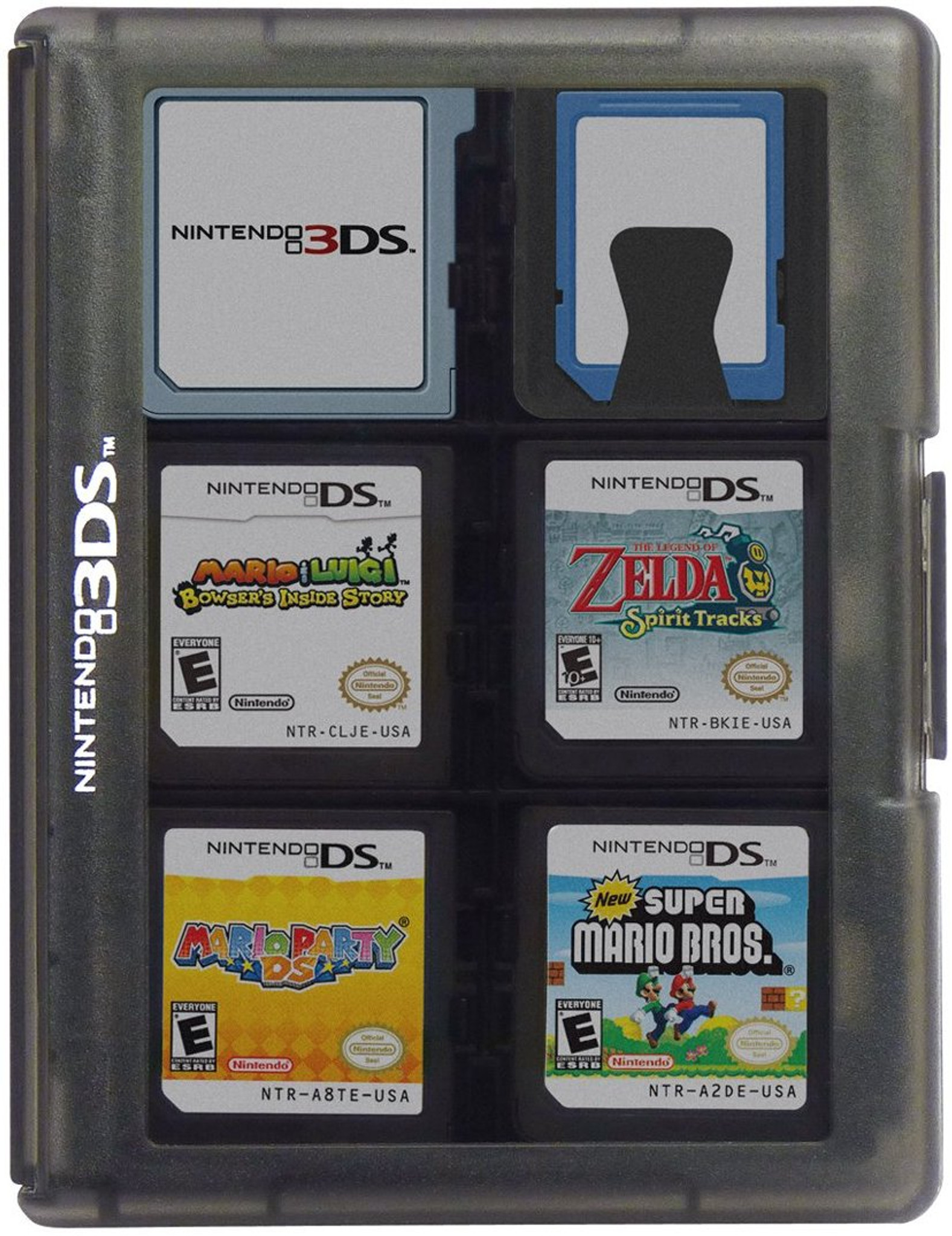 3DS Game Card Case 24 (Black)