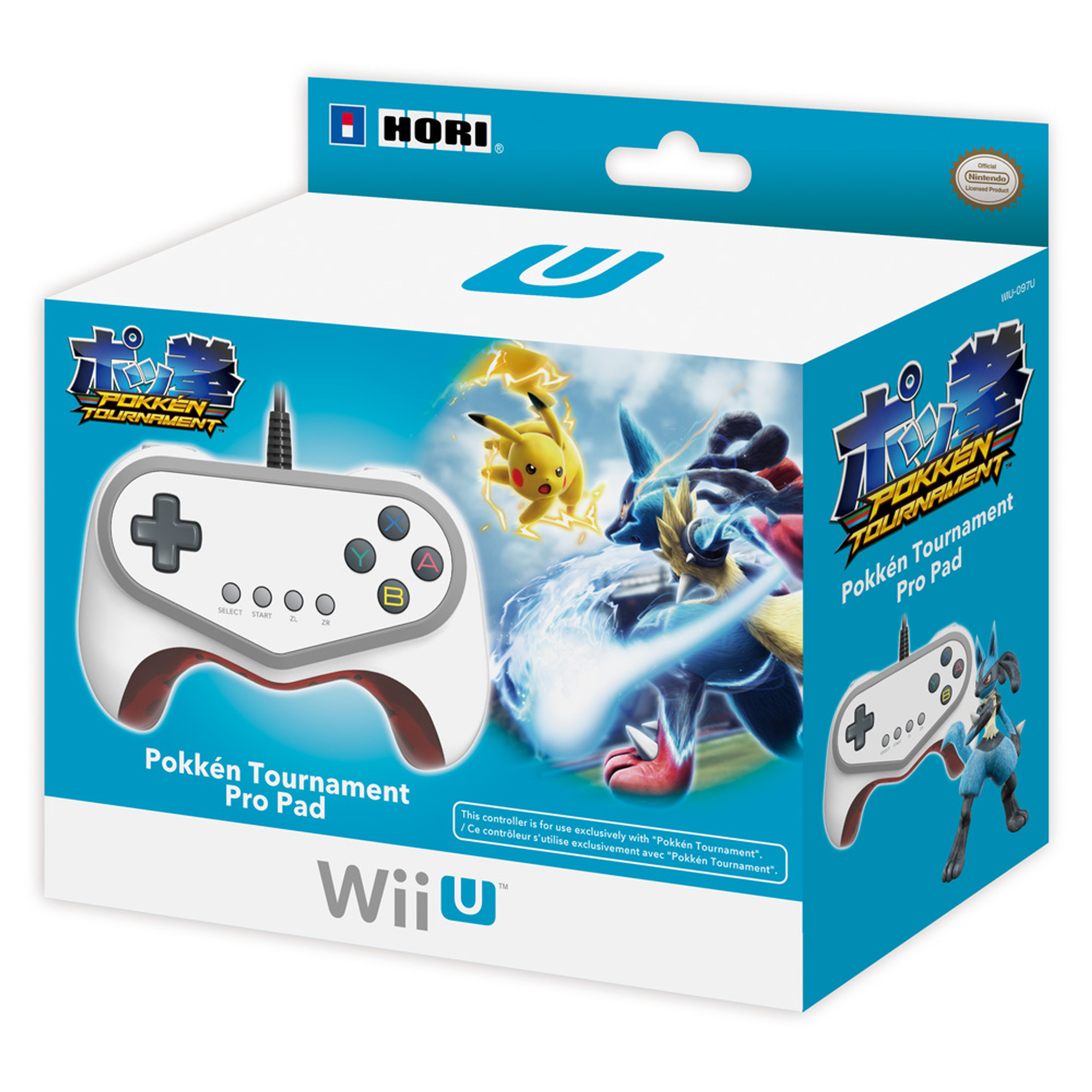 Pokken Tournament Pro Pad Limited Edition Controller for Nintendo Wii U