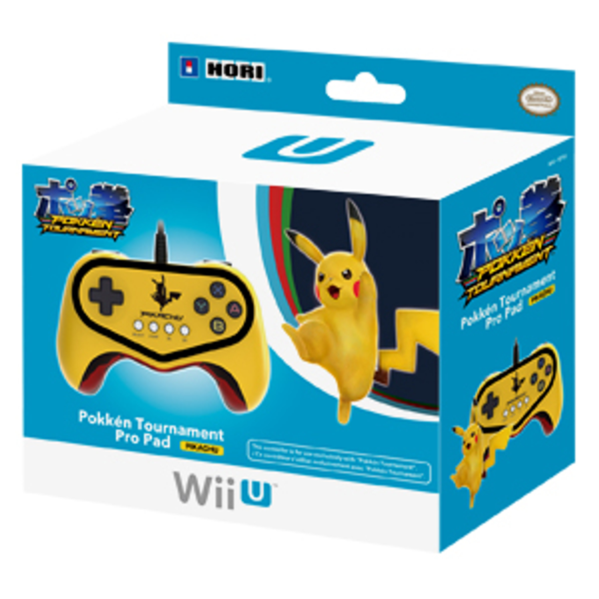 Pokken Tournament Pro Pad Limited Edition Controller for Nintendo Wii U (Pikachu Version)