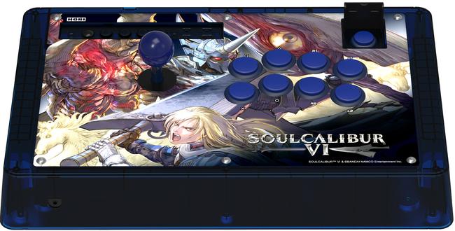 2018 E3 Press Release Announcement for SOULCALIBUR VI Branded Fight Sticks