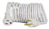 Flexy® Coiled Extension Cord Extends 4 in. to 8 ft. - 18 Gauge - 10 Amps