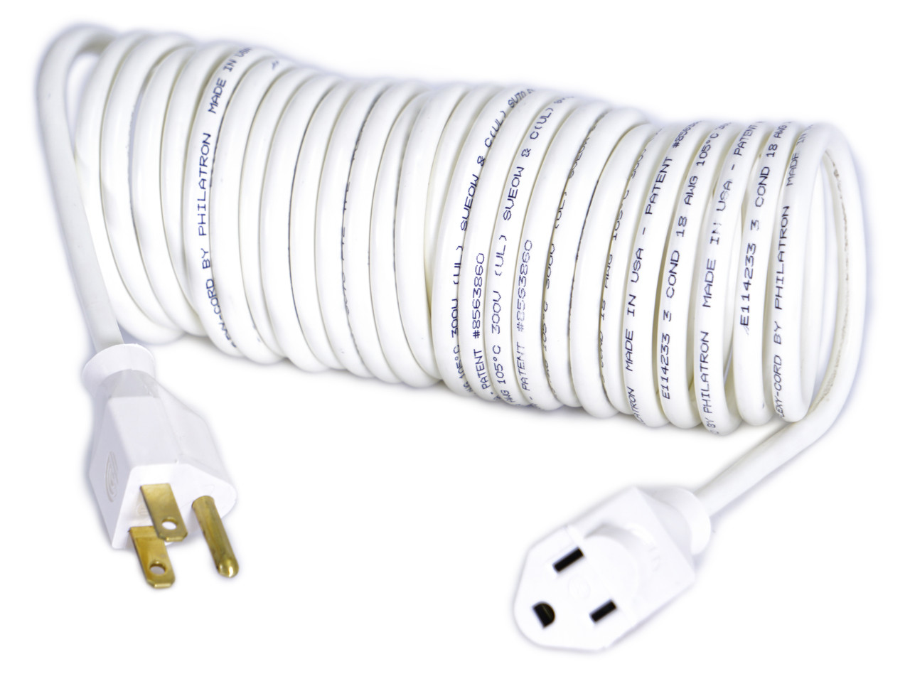 Flexy® Coiled Extension Cord