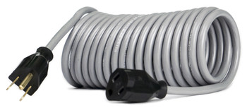 Flexy® Coiled Extension Cord Extends 10 in. to 20 ft. - 16 Gauge - 13 Amps