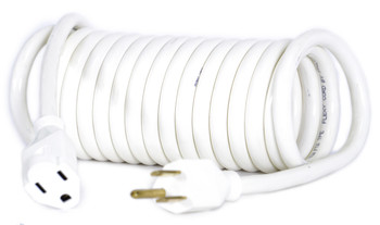 14 AWG Coiled Extension Cord.