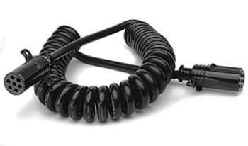 Stallion Power Truck Electrical Coiled Cable Standard Lite Duty