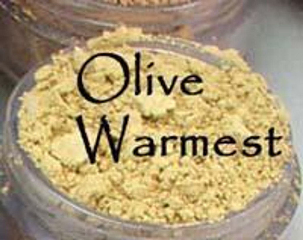 Olive Warmest Vegan Mineral Foundation