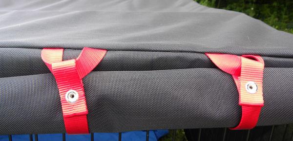 Door fasteners detail.