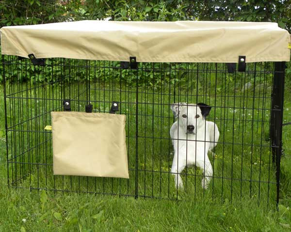dog pens for large dogs | pict.: The dog pen EU 2,5x2