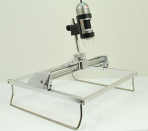 MS61V Elevated sliding inspection stand with xy adjustment