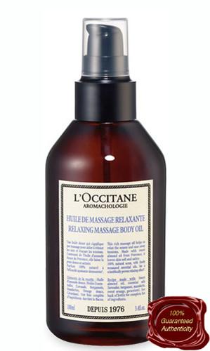 L'Occitane   Aromachologie Relaxing Massage Oil