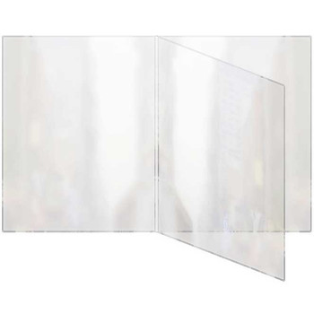 Triple booklet style all clear menu cover
