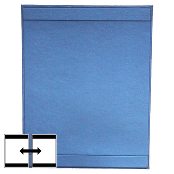 Fresca One Panel Two View Menu Cover with top and bottom horizontal strips