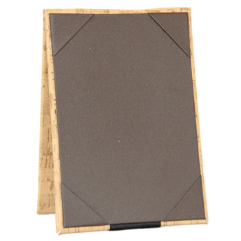 Cork Look Two View Table Tent