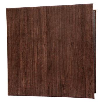 Wood Look Three Ring Binder
