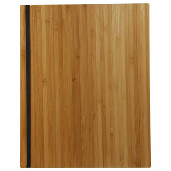 Bamboo Menu Board with Vertical Band