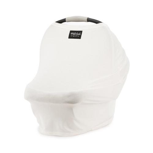 Organic Milk Snob Car Seat Cover, Ivory