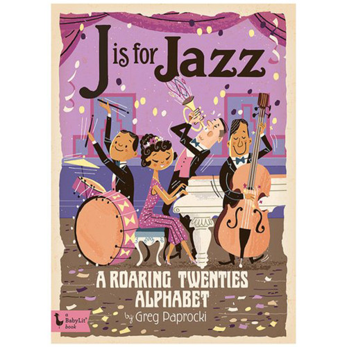 J is for Jazz Board Book