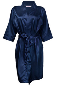 Silky Satin Robe Front