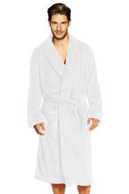 Men's Personalized Velour Shawl Robe