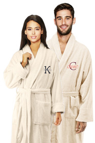 Couple's Embroidered Bath Robes with Overlay