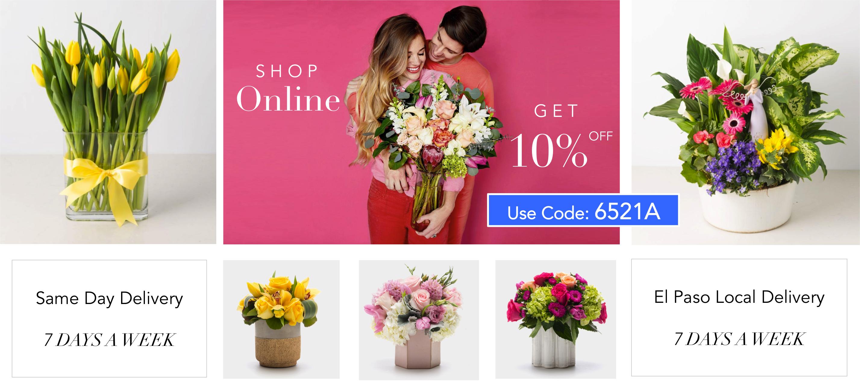 Angie s Floral Designs Best El Paso Florist in West