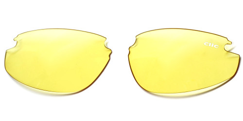 Clic Sunglass II & Clic FS Replacement Lenses: Yellow