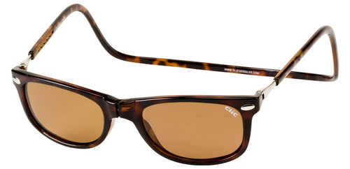 Clic Ashbury Sunglasses in Tortoise with Amber Lens