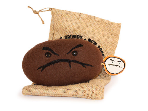 Plush Grumpy Bean (Roasted)