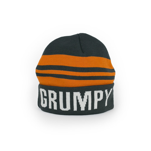 Striped Grumpy Beanie