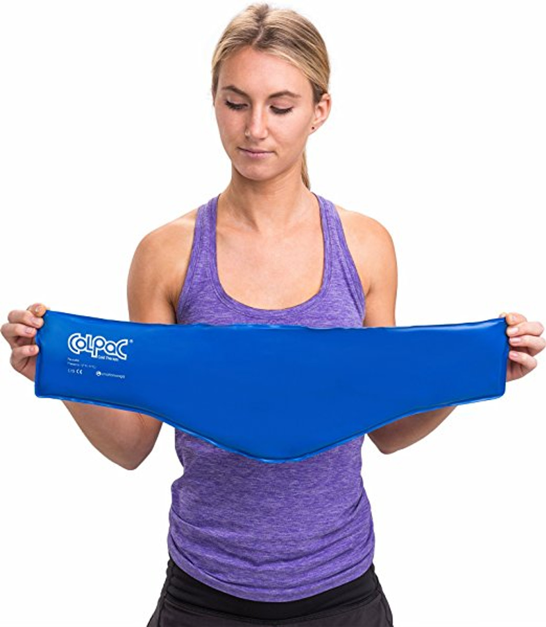 """ColPac Reusable Gel Ice Pack Neck Size 23"""""""
