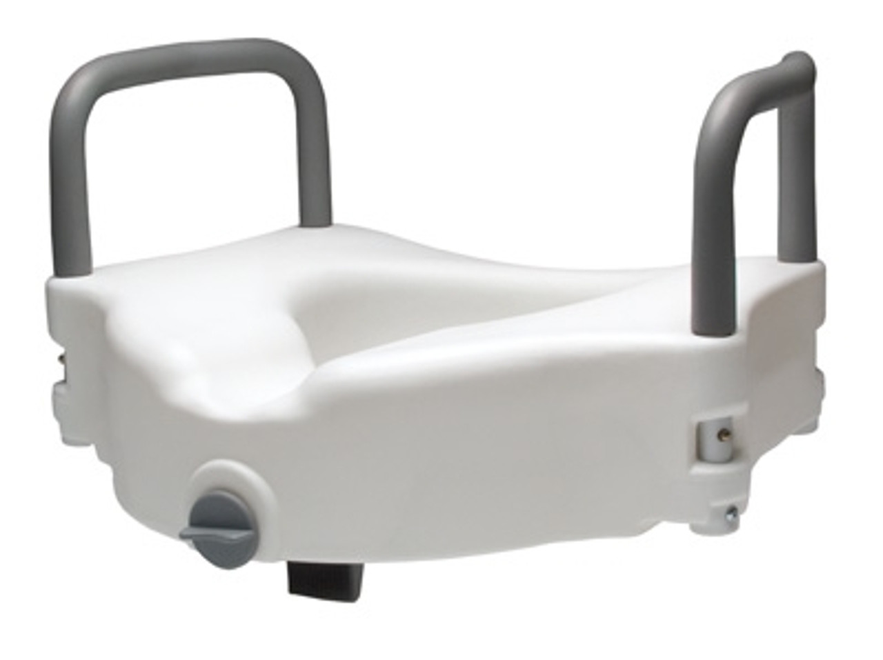 Toilet Seat with Arms Raised