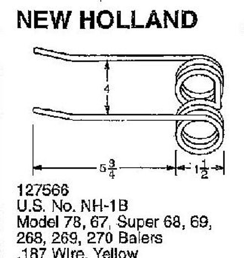 New Holland Case-IH round square baler tooth teeth 630