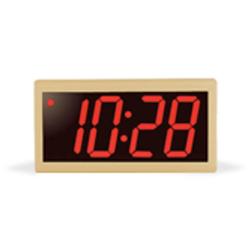 Inova On-Time Synchronized Networked Wall Clock ONT4PT-P