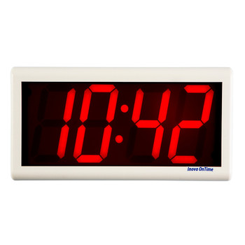 Inova On-Time Wall Clock ONT4OW-P