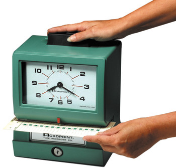 Acroprint Model 125  Time Clock