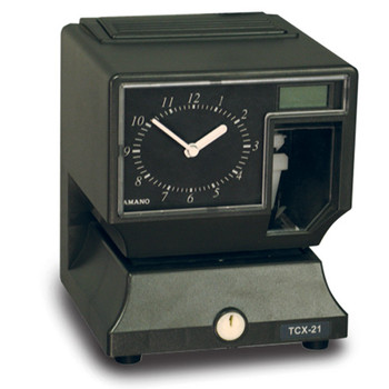 Amano TCX-21 Electronic Time Clock