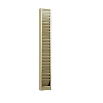 Horizontal Badge Rack - 25 Capacity