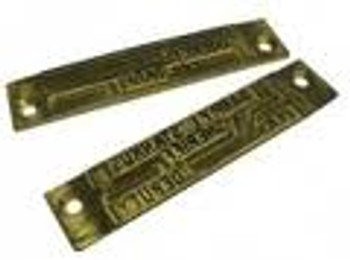 Widmer Upper Engraved Die Plate (Prints Above Date & Time)