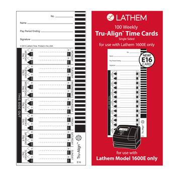 Lathem 1600E Time Clock