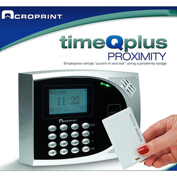 Acroprint TimeQPlus Proximity System - Return - Open Box