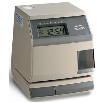 Amano PIX-3000X Time Clock