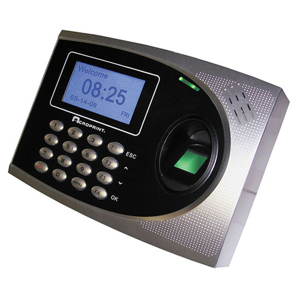 Acroprint's TimeQPlus Fingerprint Time Clock For Quickbooks