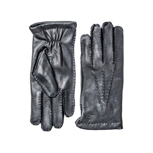 Deer Skin Gloves Black