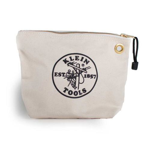Klein Tools Canvas Zip Pouch Natural