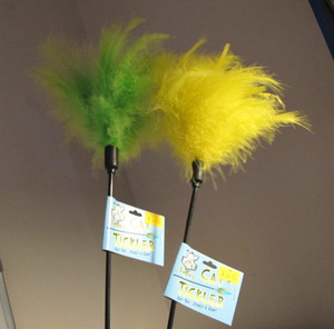 Feather Duster Cat Tickler