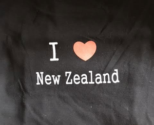 I ❤ New Zealand Print Shirt