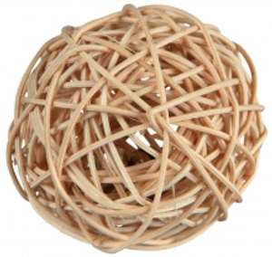 Wicker Ball with Bell