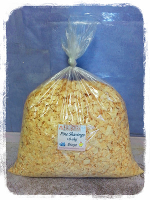 Pine Shavings/Bedding 1.8-2kg