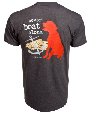 Never Boat Alone Unisex Tee XL