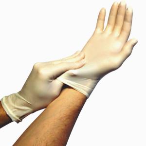 Nitrile White Perfect(TM) Exam Gloves Powder-Free 3mil